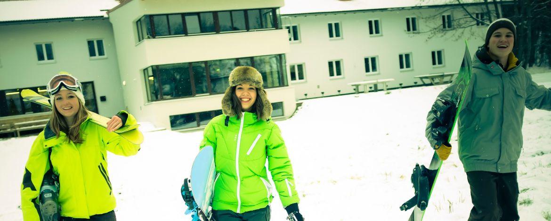 Snowboarder und Freestyler