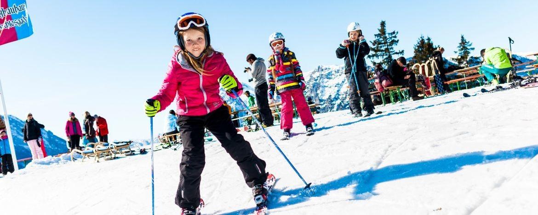 Skikurs im Skigebiet Brauneck
