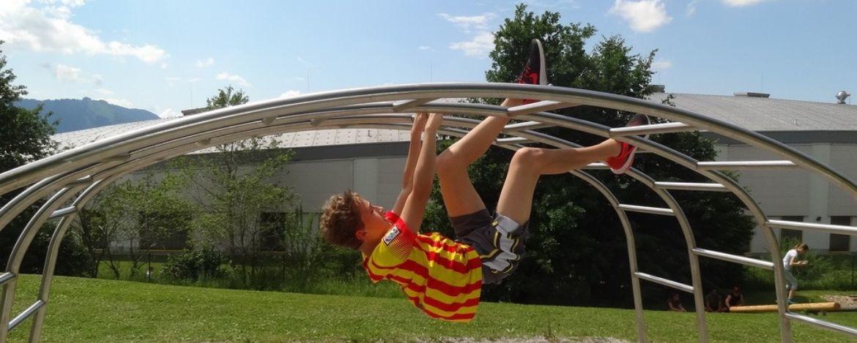 Aktivparcours in der Sport|Jugendherberge Bad Tölz