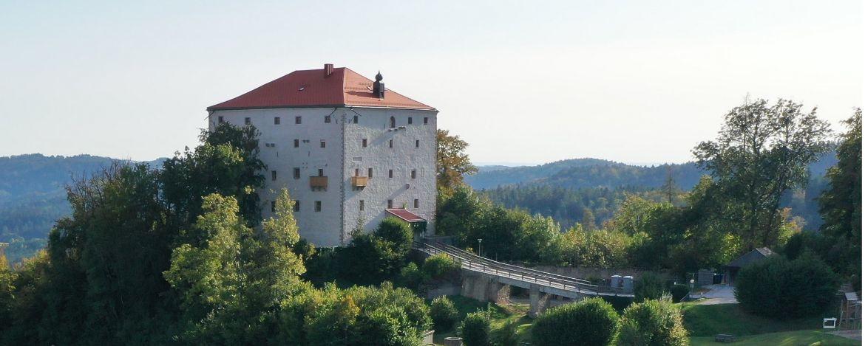 Rittersleut auf der Burg Saldenburg
