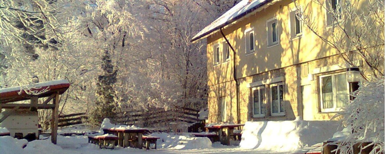 Jugendherberge Lochen im Winter