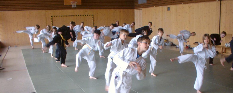 Judo in der Halle