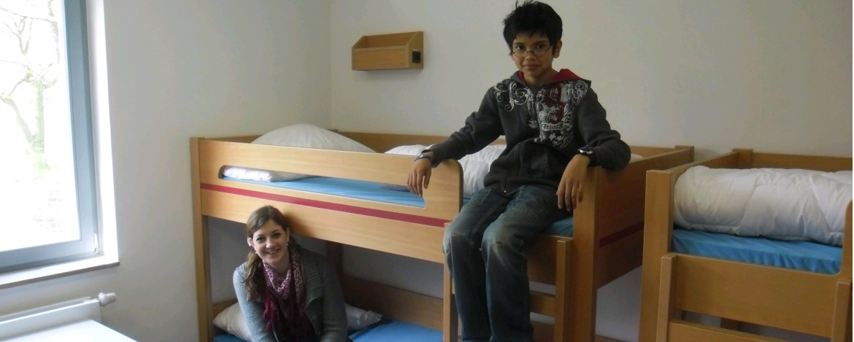 Zimmer in der Jugendherberge Mannheim