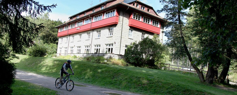Radfahren rund um die Jugendherberge Seebrugg