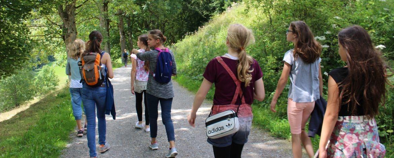 Wanderung durch den Naturpark