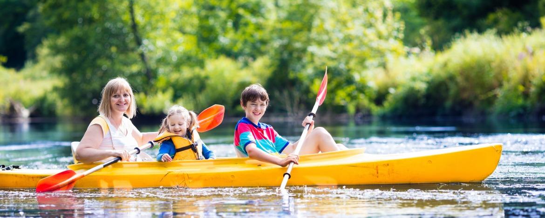 Familienurlaub Köriser See mit Zeltplatz