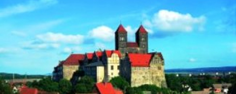 Stiftskirche mit Domschatz in Quedlinburg