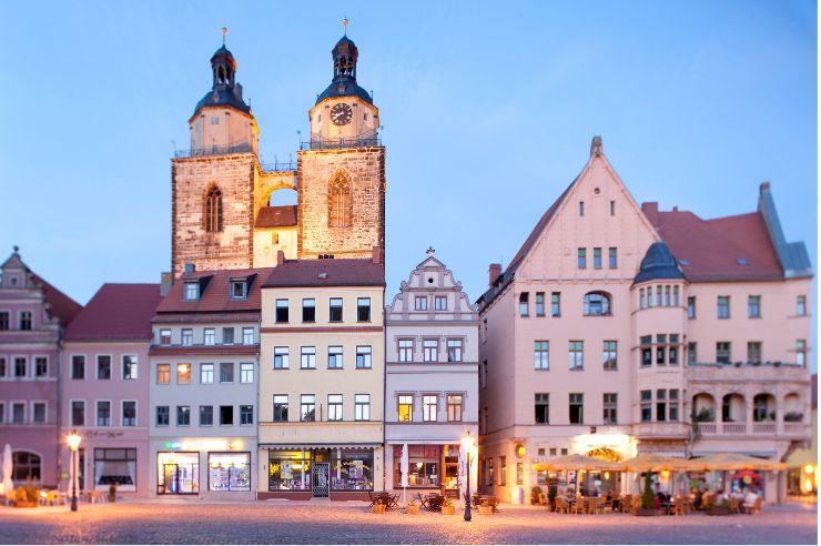 Innenstadt von Wittenberg