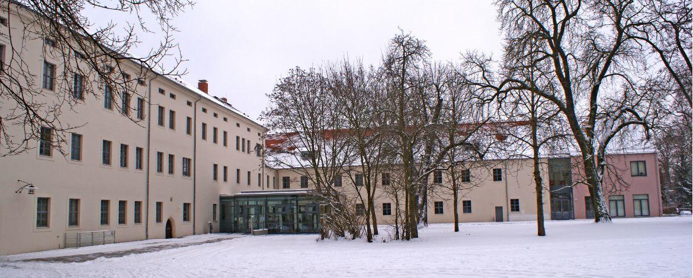 Eingang zur Jugendherberge Wittenberg