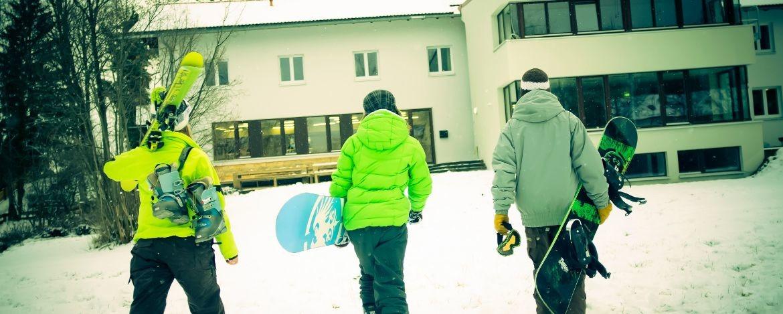 Ein Dorado für Wintersport und Wintergenuss