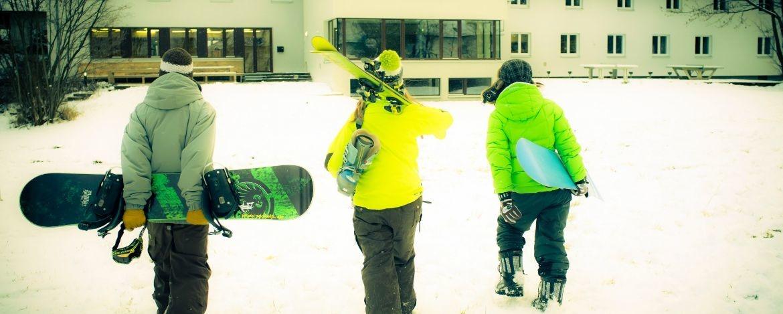 Snowboarder und Freestyler kommen im  Skizirkus Brauneck auf ihre Kosten