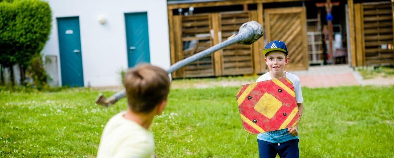Spannendes Ritterturnier