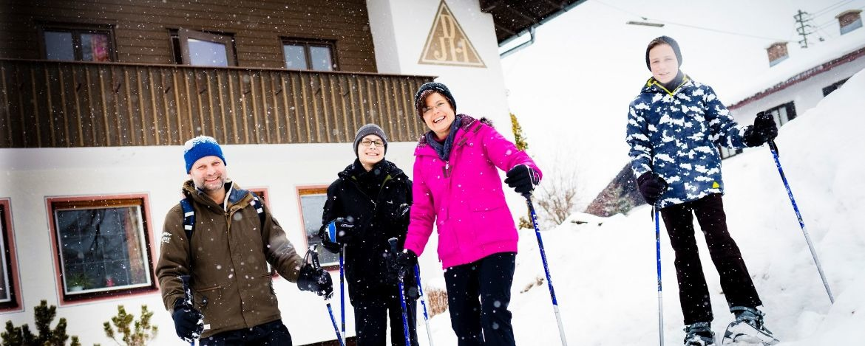 Winterliches Familienerlebnis im neuen Jahr