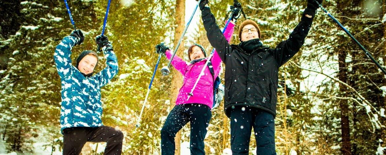 Winterliches Familienerlebnis in Kreuth