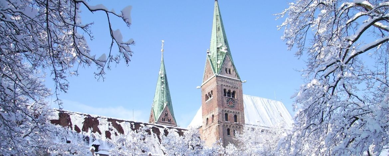 Augsburg bei Winter