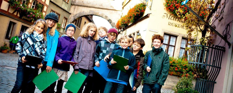 Klassenfahrt in die Jugendherberge Bamberg