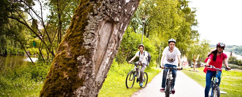Radfahren in Franken