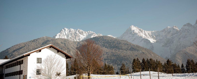 Silvesterurlaub mit Kindern im Karwendelgebirge