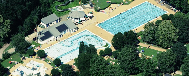 Freibad für Schwimmtraining