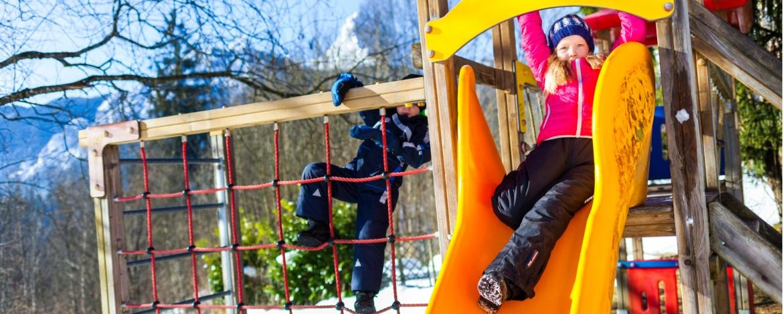 Spielplatz in der Jugendherberge Berchtesgaden