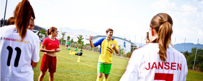 Fußballcamp in der Jugendherberge