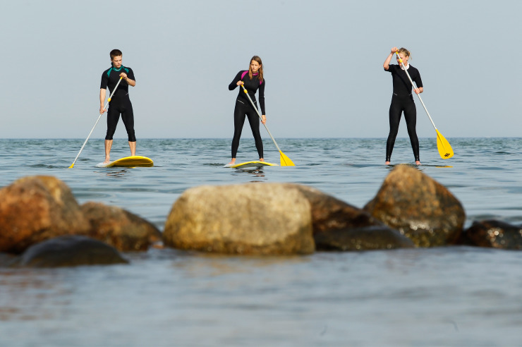 Stand-Up-Paddling auf Sylt