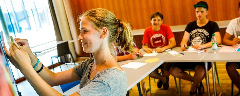 Moderne Seminarräume der Jugendherberge