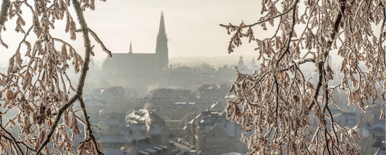 Winterliches Regensburg