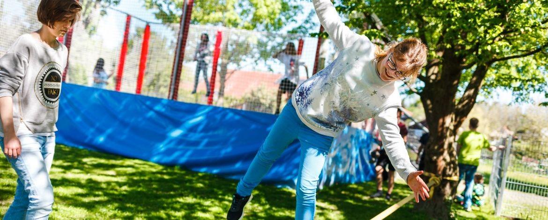 Sportmöglichkeiten auf dem Gelände der Jugendherberge