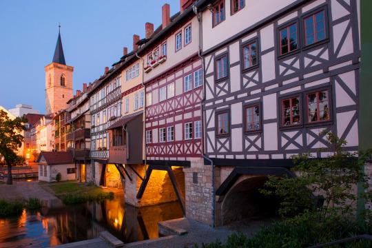Klassenfahrt Erfurt - Hochheimer Straße