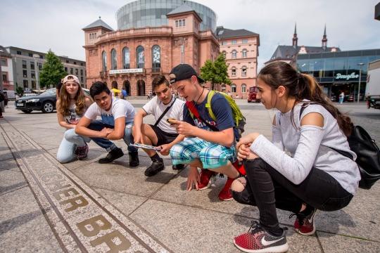Klassenfahrt Mainz