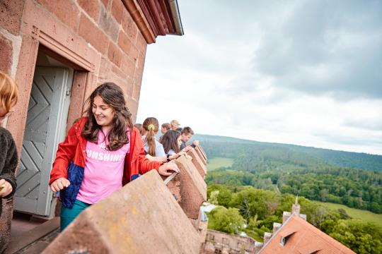 Klassenfahrt Burg Breuberg