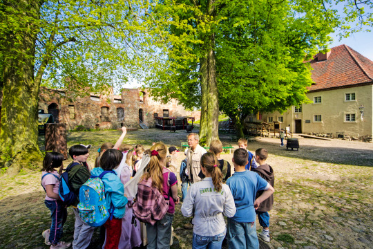 Klassenfahrt Burg Stargard