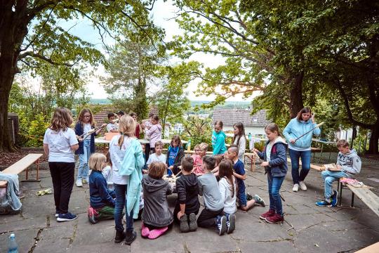Klassenfahrt Zwingenberg