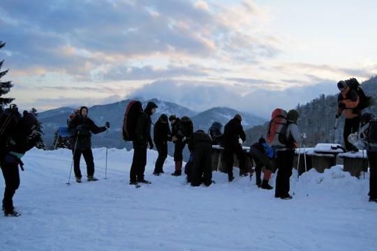 Wintererlebnis im Schwarzwald