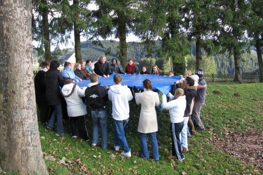 Gruppenzusammenhalt & Vertrauen