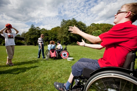 Gemeinschaft -mit Handicap- erleben
