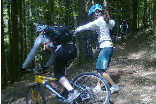 Junior-Mountainbike-Woche