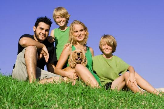 Training mit dem Familienhund