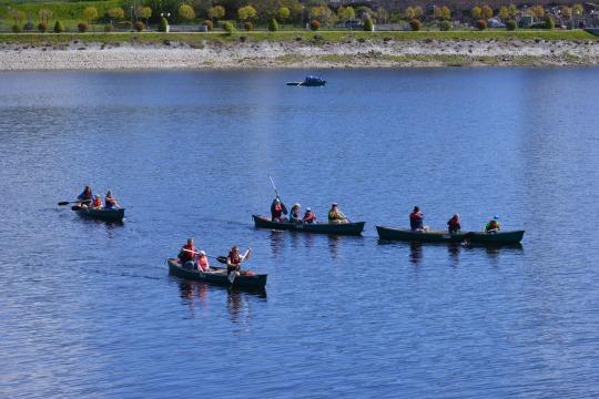 Kanu-Guide-Tour auf dem Schluchsee