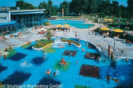 Kurzurlaub Stuttgart Neckarpark