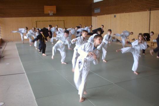 Trainieren auf dem Feldberg