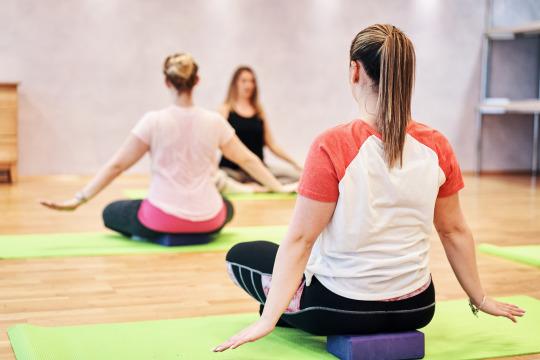 Yoga-Wochenende für Einsteiger