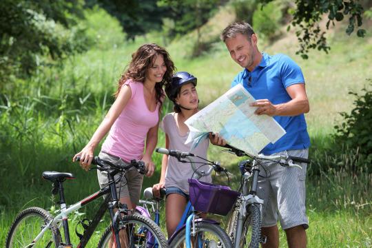 Fahrrad- oder Paddelwochenende