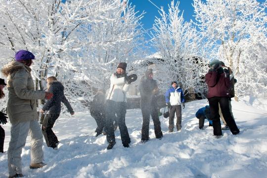 Märchenhafter Winter in Torfhaus