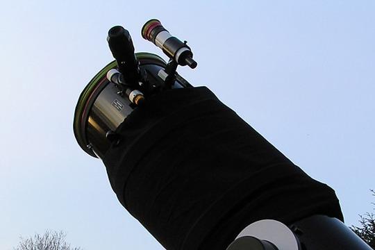 Astro-Silvester mit Teleskop Gewinn