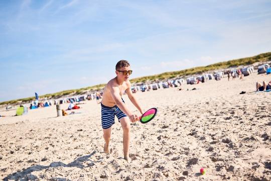 Das Beachsport-Camp auf Langeoog