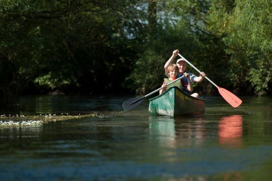 Mit dem Kanu durch die Südheide