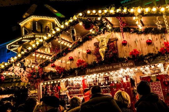 Romantischer Weihnachtsmarkt